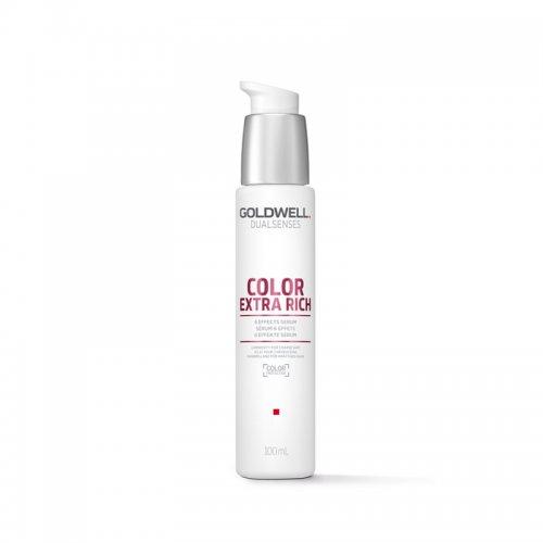 Серум-спрей за боядисана и изтощена коса Goldwell Color Extra Rich Serum Spray 100ml