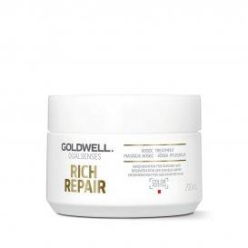 60 секундна маска за суха и увредена коса Goldwell Dualsenses Rich Repair 60 sec Treatment 200ml