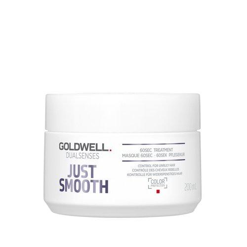 60 секундна маска за непокорна и чуплива коса Goldwell Just Smooth 60sec Treatment 200ml