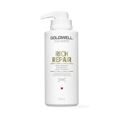 60 секундна маска за суха и увредена коса Goldwell Dualsenses Rich Repair 60 sec Treatment 500ml