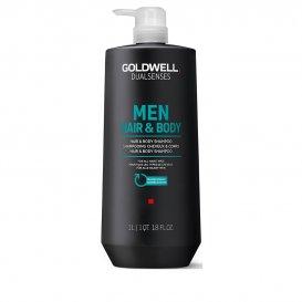 Шампоан за коса и тяло за мъже  Goldwell Men hair and body Shampoo 1000ml