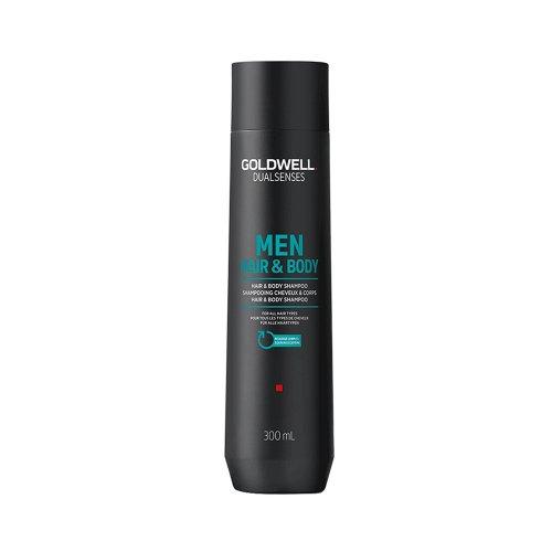 Шампоан за коса и тяло за мъже - Goldwell Men hair and body Shampoo 300ml