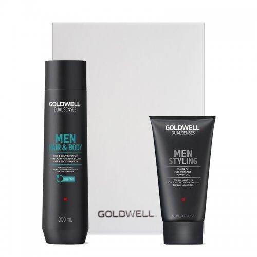 Комплект за коса и тяло за мъже  Goldwell Men hair and body