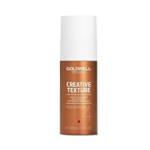 Матираща крем-паста за всеки тип коса Goldwell Roughman Matte Cream Paste 100ml.