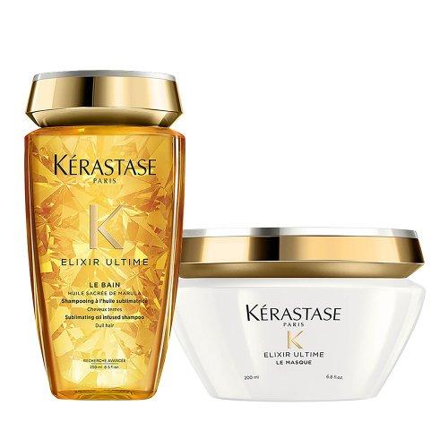 Комплект Шампоан и Маска за блясък - Kerastase Elixir Ultime