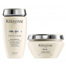 Уплътняващ комплект шампоан и маска  Kerastase Densifique