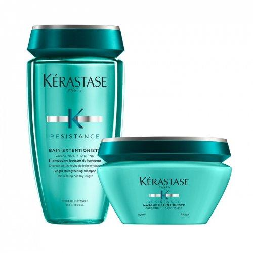 Комплект Подсилващ шампоан и маска Kerastase Resistance extentioniste