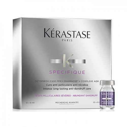 Ампули против пърхот Kérastase Specifique Anti-Recidive Treatment 12x6мл.