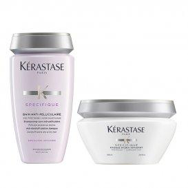 Комплект Шампоан против пърхот и Успокояваща маска  Kerastase Specifique