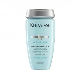 Нежен шампоан за чувствителен скалп и суха коса  Kérastase Spécifique Bain Riche Dermo-Calm 250ml