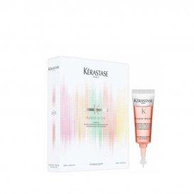 Комплект бустери за изглаждане на непокорна коса Kerastase Discipline Fusio Homelab 4х6 ml