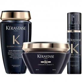 Комплект Луксозна грижа за косата Kérastase Chronologiste Régénérant