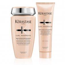 Комплект Шампоан и Балсам за къдрава коса Kerastase Curl Manifesto
