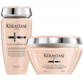 Комплект Шампоан и Маска за къдрава коса Kerastase Curl Manifesto