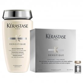 Комплект Шампоан и Ампули за уплътняване на косата Kerastase Denisifique