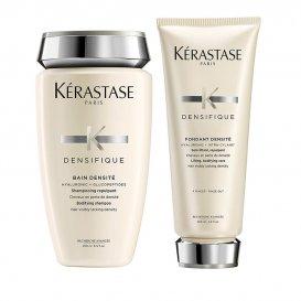 Комплект за уплътняване на косата шампоан и балсам - Kerastase Densifique