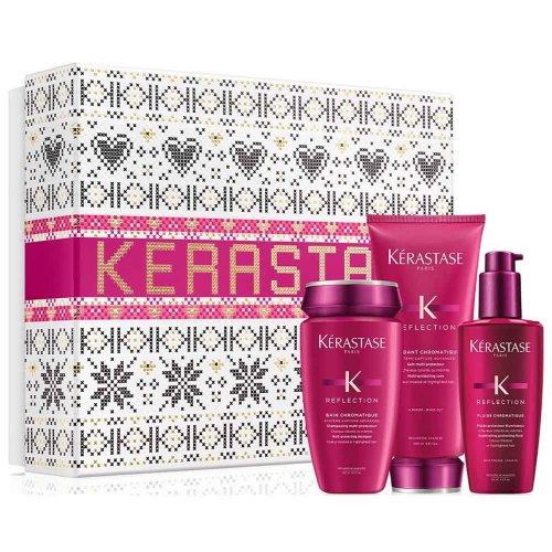 Коледен комплект за боядисана коса Kerastase Reflection