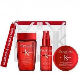 Слънцезащитен травъл комплект за коса Kerastase Soleil