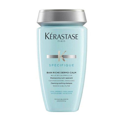Шампоан за чувствителен скалп и суха коса  Kérastase Spécifique Bain Riche Dermo-Calm 250ml