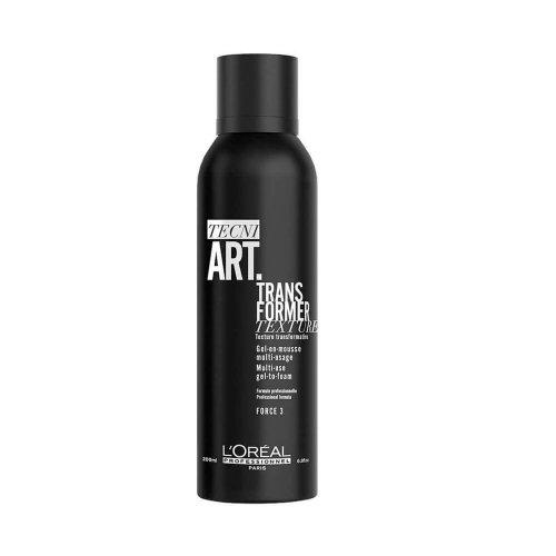 Гел за коса със силна фиксация Loreal Tecni Art Transformer Gel 200ml