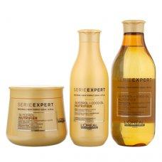 Комплект Шампоан, Балсам и Маска за сухи и неподхранени коси / LOreal Professionnel Nutrifier