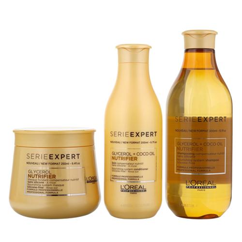 Комплект Шампоан и Маска  за сухи и неподхранени коси LOreal Professionnel Nutrifier | Beautymall