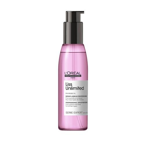 Oлио за приглаждане L'Oréal Professionnel Liss Unlimited Oil 125ml.