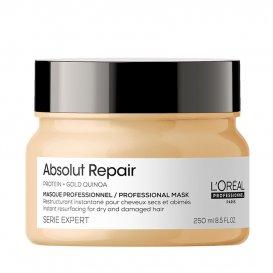 Възстановяваща маска за нормална и плътна коса с киноа Loreal Professionel Absolut Repair masque 250ml