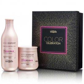 Подаръчен комплект за боядисана коса / LOreal Professionnel Vitamino color