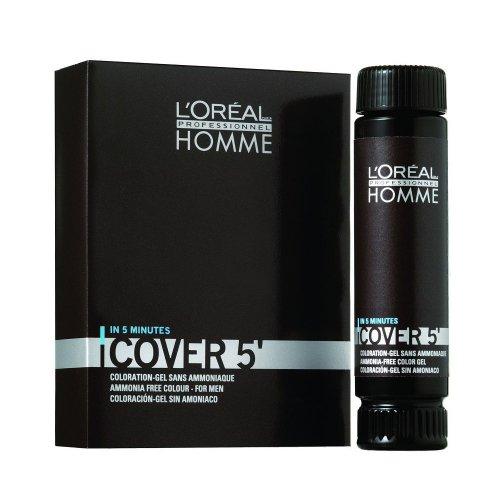 Боя за коса за мъже - безамонячна Loreal Homme Cover 5 50ml.