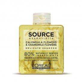 Натурален шампоан за чувствителен скалп / Loreal Source Delicate shampoo 300 мл
