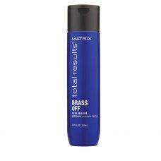 Шампоан за неутрализиране на топли оттенъци Matrix TR Brass Off Shampoo 300ml.
