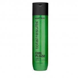 Шампоан за къдрава и непокорна коса Matrix Total Results Curl Please shampoo 300ml.