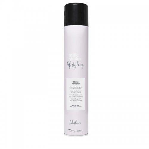 Лак за боядисана коса с киноа Lifestyling Strong Hairspray 500 мл.