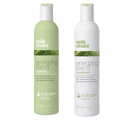 Комплект за фина и изтъняла коса MilkShake Energizing Blend Beautymall