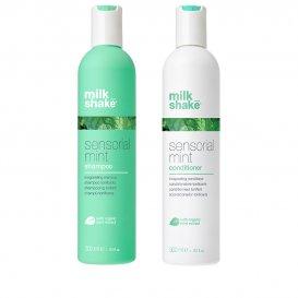 Освежаващ и хидратиращ комплект за коса / MilkShake Sensorial Mint Set