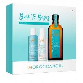 Коледен комплект за приглаждане на косата Moroccanoil Smooth