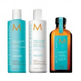 Комплект за обем с олио Moroccanoil Volume Set