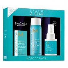 Комплект за обем с подарък арганово олио Moroccanoil Style Like a Star