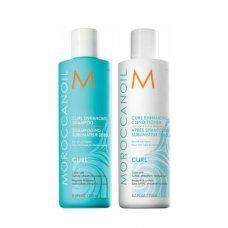 Комплект Шампоан и Балсам за къдрици Moroccanoil Curl Enhancing