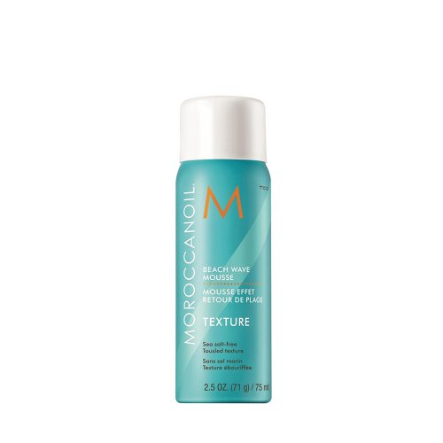 Пяна за плажни вълни Придава вълни за небрежна визия с гъвкава фиксация, UV защита предпазва цвета на косата свеж за по-дълго. 75 мл.