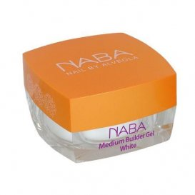 Изграждащ гел/ Medium Builder Gel White Naba