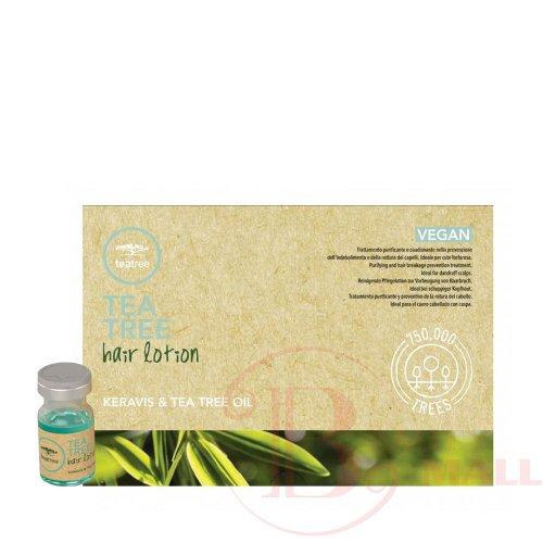 Ампули против косопад Paul Mitchell Tea Tree Hair Lotion-Keravis & Tea Tree Oil 12 х 6ml.