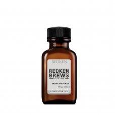 Масло за брада Redken Brews Mens Beard Oil 30ml