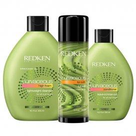 Комплект за къдрава коса троен Redken Curvaceus