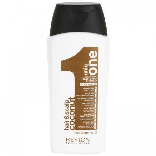 За ежедневна грижа/Revlon Uniq One - Шампоан с кокос , 10 действия /Uniq ONE Hair & Scalp Coconut 300мл.