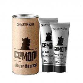 Комплект Шампоан и Балсам за мъже Selective Cemani Stay On the Crest