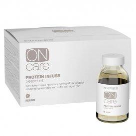 Възстановяващ серум за изтощена коса SELECTIVE On Care Protein infuse treatment 6x20ml