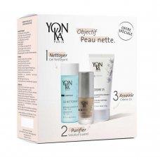 Подаръчен комплект за мазна кожа Yon-Ka Clear Skin Routine
