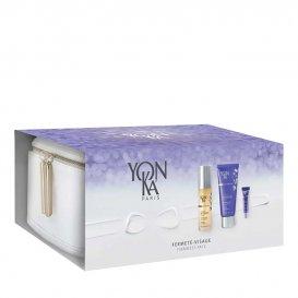 Подаръчен комплект против бръчки и лифтинг с несесер Yon-Ka Anti-Aging